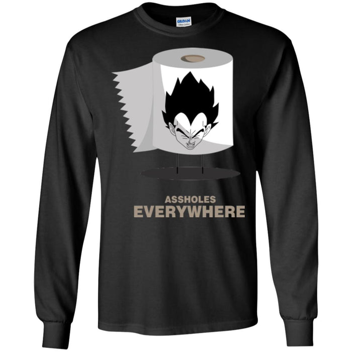 dbz everywhere LS Ultra Cotton T-Shirt