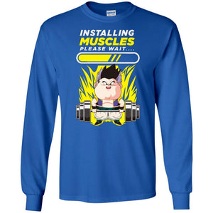 DBZ GOTENK INSTALLING MUSCLE LS Ultra Cotton T-Shirt