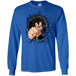 VEGETA PUNCH LS Ultra Cotton T-Shirt