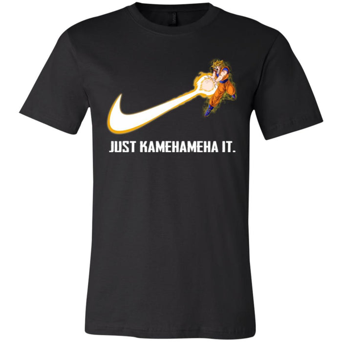 DBZ JUST KAMEHAMEHA IT SSJ2 Unisex Jersey Short-Sleeve T-Shirt