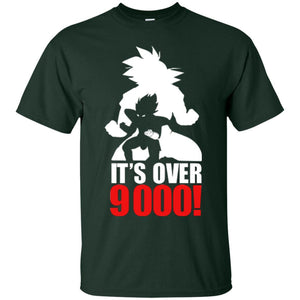 dbz over 9000 Ultra Cotton T-Shirt