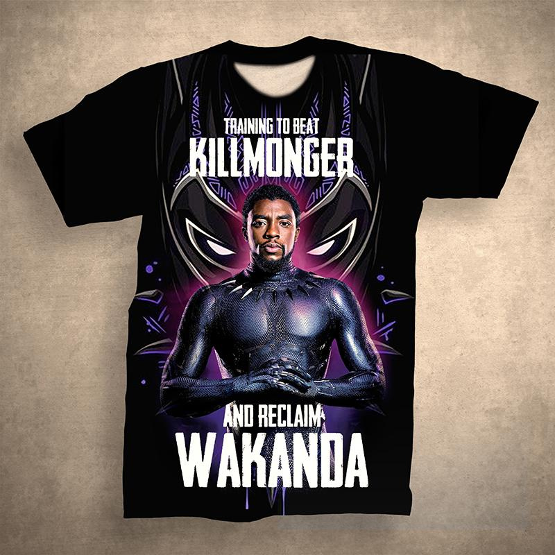 Black Panther Tshirt 0019
