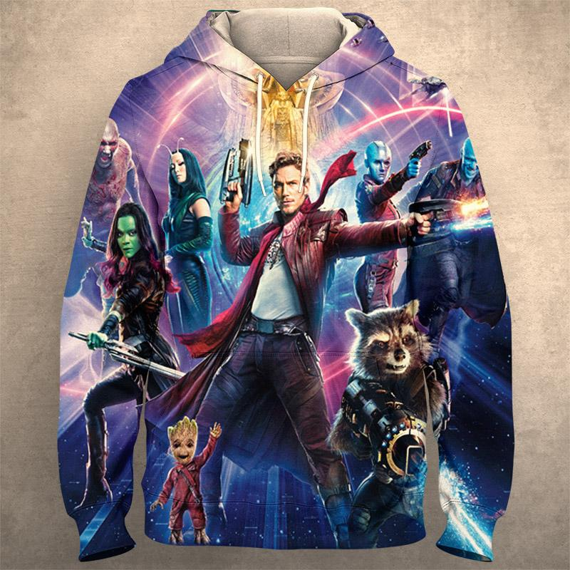 GUARDIANS OF THE GALAXY Hoodie 0280