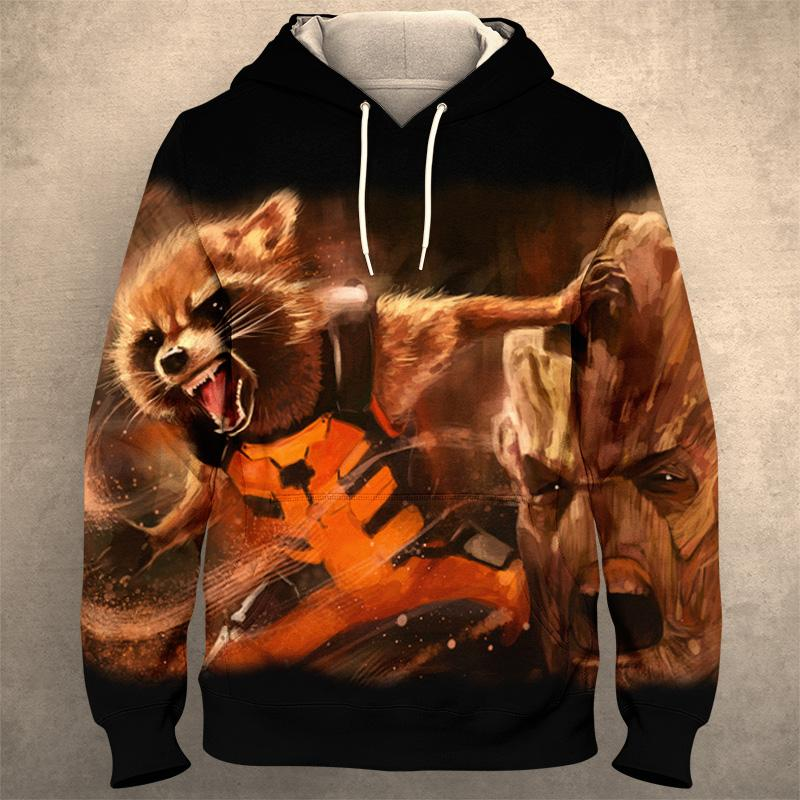 GUARDIANS OF THE GALAXY Hoodie 0282