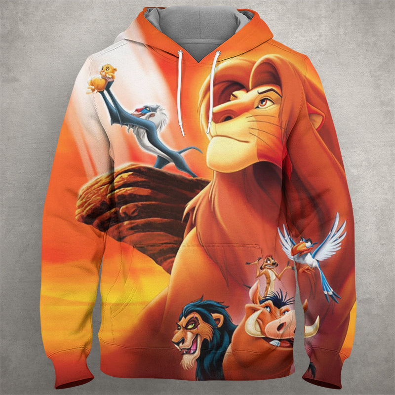 The Lion King Hoodie Planet Vegeta