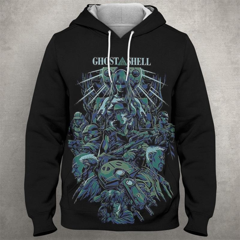 GHOST OF THE SHELL Hoodie 0577