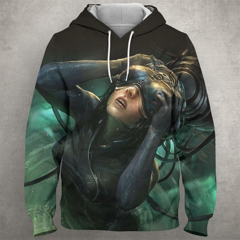 GHOST OF THE SHELL Hoodie 0579