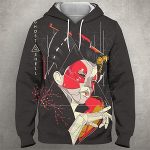 GHOST OF THE SHELL Hoodie 0581