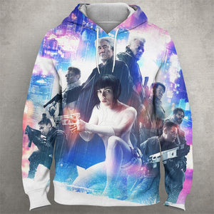GHOST OF THE SHELL Hoodie 0583