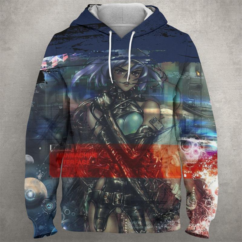 GHOST OF THE SHELL Hoodie 0585