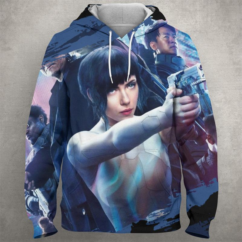 GHOST OF THE SHELL Hoodie 0586