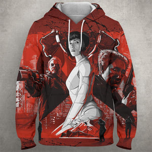 GHOST OF THE SHELL Hoodie 0587