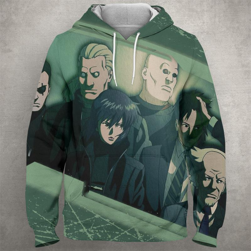 GHOST OF THE SHELL Hoodie 0588