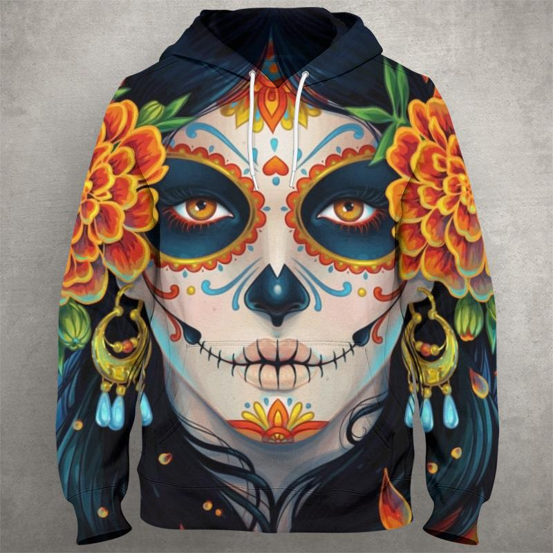 DAY OF THE DEAD Hoodie 0864