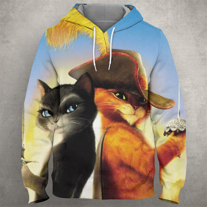 Puss In Boots Hoodie 0014