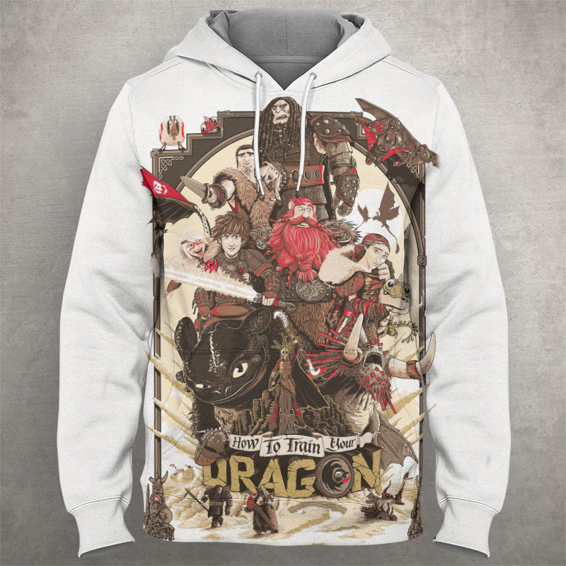 How to Train Your Dragon Hoodie 0059
