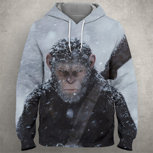 War For The Planet Of The Apes Hoodie 0080