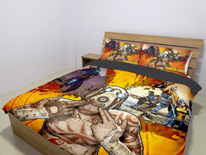 BORDERLANDS BEDDING SET