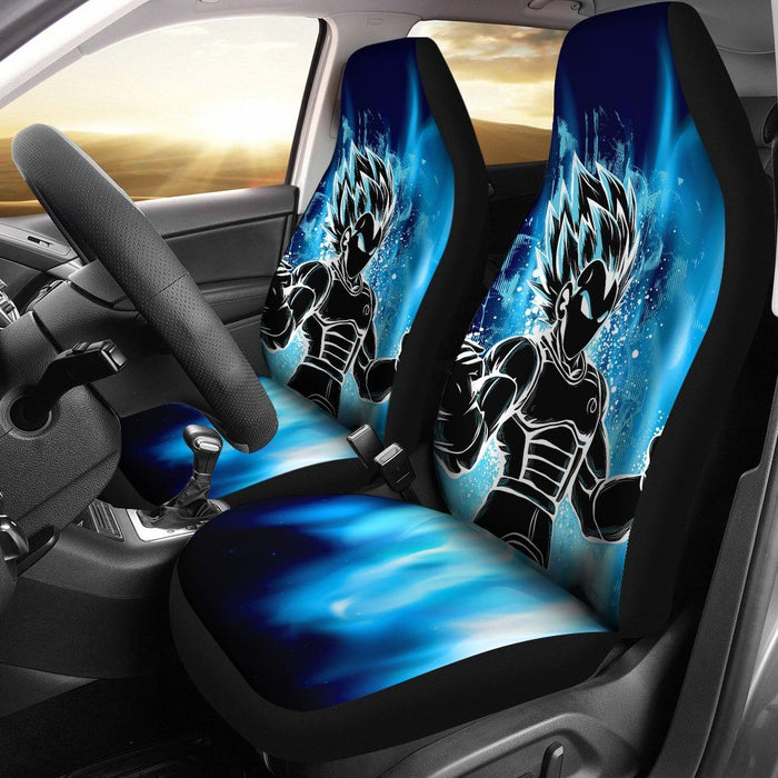 2pcs DBZ Vegeta Car Seat Covers