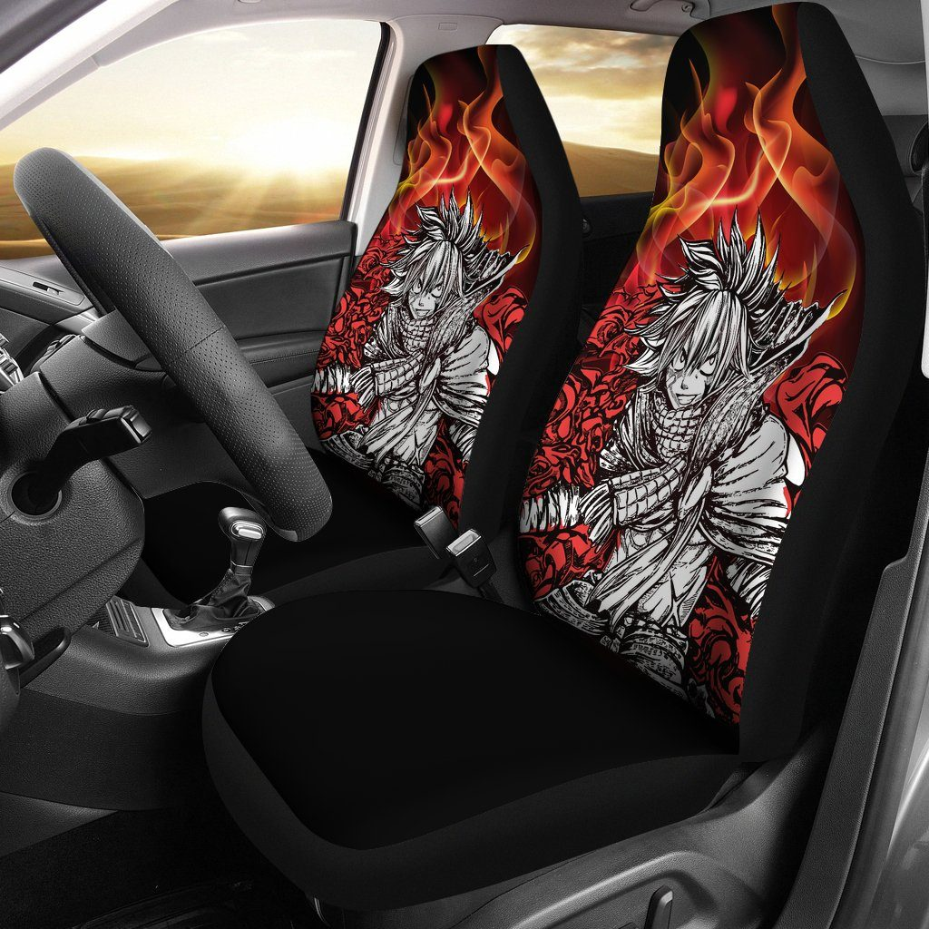 2pcs Fairy Tail Car Seat Covers
