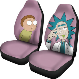 2pcs Rick and Morty Car Seat Covers