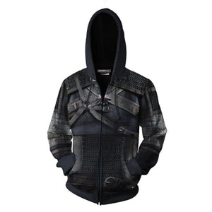 The Hoodie Cosplay Jacket Zipper