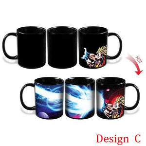 Dragon Ball Z Color Changing Mugs - Dragon Ball - Planet Vegeta