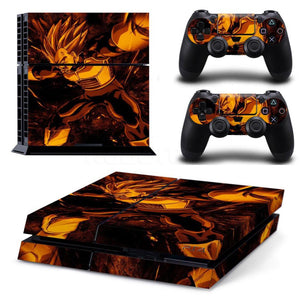 FLASH SALE Dragon Ball Vegeta PS4 Skin - Dragon Ball - Planet Vegeta