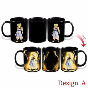 Dragon Ball Z Color Changing Mugs [Backup - With Design C] - movie cartoon anime hoodie - Planet Vegeta