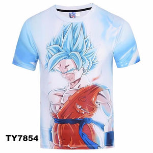 New Style 3d Tshirt print v2 - movie cartoon anime hoodie - Planet Vegeta