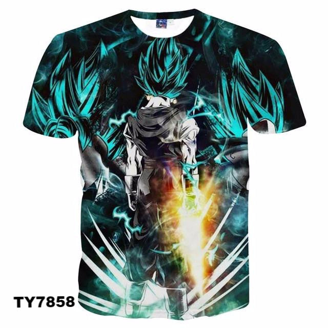 New Style 3d Tshirt print v2 - Dragon Ball - Planet Vegeta