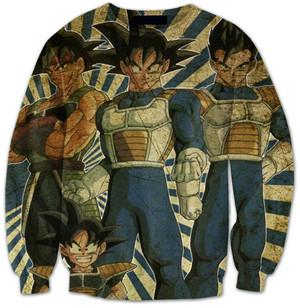 Dragon Ball Z 3d Print Sweaters v1 (ASIAN Size)