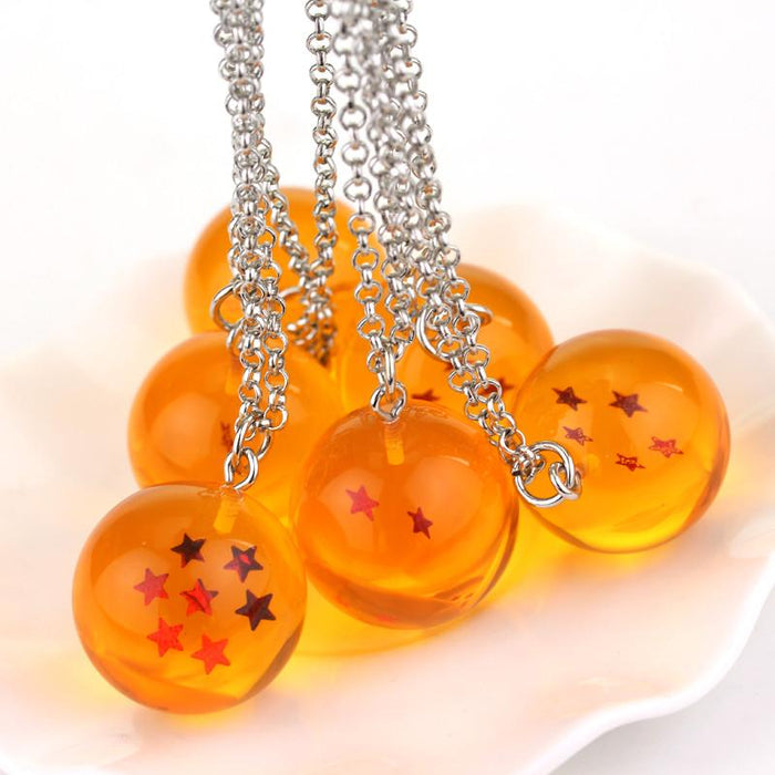 Dragon Ball Z Orange 1-7 Keychain