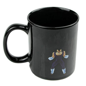 Heat Reactive Dragon Ball Goku Vegeta Mug - movie cartoon anime hoodie - Planet Vegeta