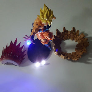 Goku Super Saiyan Kamehameha Power Up Led Light 150mm Anime Dragon Ball DBZ - Dragon Ball - Planet Vegeta