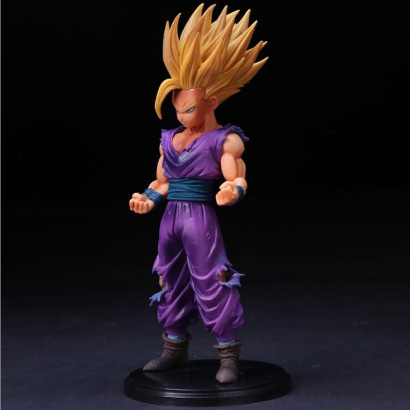 25cm Anime Dragon Ball Z Super Saiyan Son Gohan Action Figures