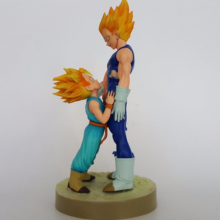 Vegeta Trunks Father Son Anime DBZ Collectible Figure