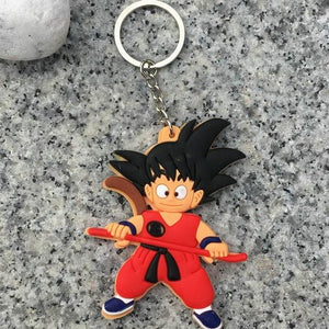 Dragon Ball Z Character Keychain