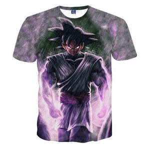 Dragon Ball Z T-shirts Mens Summer Fashion 3D Printing (ASIAN Size)
