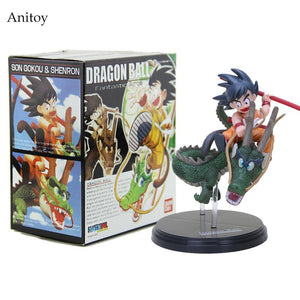 Goku with Dragon Figures - Dragon Ball - Planet Vegeta