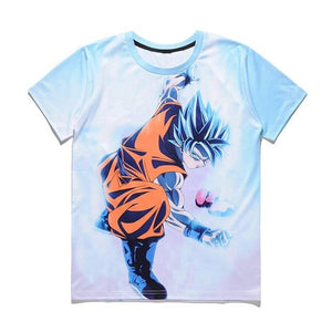 3D T Shirt Dragon Ball Black Goku Super Saiyan (ASIAN Size) - movie cartoon anime hoodie - Planet Vegeta
