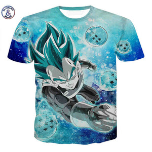 New Men Dragon Ball Z t-shirt 3D Printed