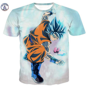 Dragon Ball 3D Printed Tshirts Collection 2 (ASIAN Size) - movie cartoon anime hoodie - Planet Vegeta
