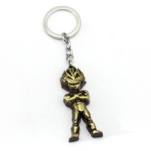 Anime Dragon Ball Son Goku Vegeta Trunks Keychain - movie cartoon anime hoodie - Planet Vegeta