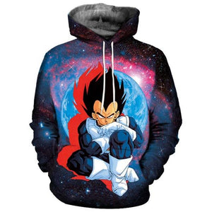 Anime Hoodies Dragon Ball Z Pocket Hooded Sweatshirts 3D (ASIAN Size)