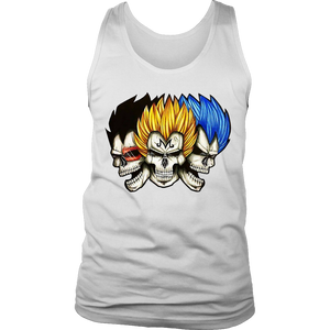 Vegeta Skulls - Dragon Ball - Planet Vegeta