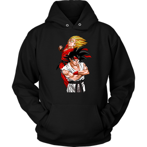 Street Fighters - Goku Vegeta - movie cartoon anime hoodie - Planet Vegeta
