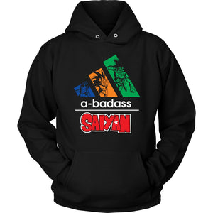 A Badass Saiyan - movie cartoon anime hoodie - Planet Vegeta