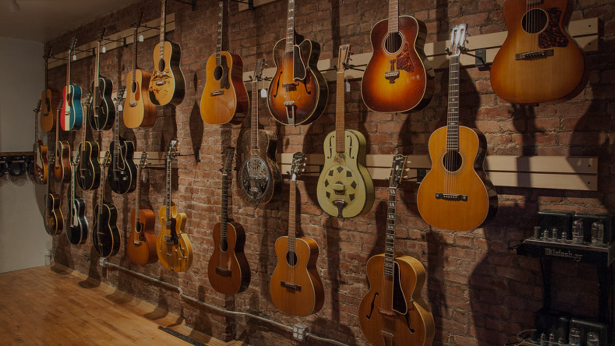 TR Crandall Guitars Open for Business