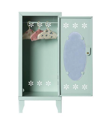 Doll Accessories Maileg Metal Cabinet